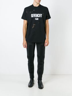 Спортивные Брюки С Аппликацией Givenchy                                                                                                              серый цвет