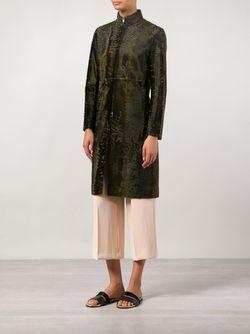 Пальто Santon The Row                                                                                                              зелёный цвет