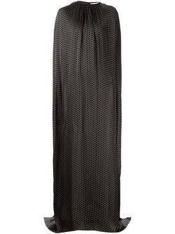 Струящееся Платье-Пончо Maison Rabih Kayrouz                                                                                                              чёрный цвет