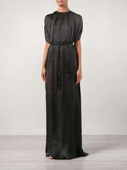 Струящееся Платье-Пончо Maison Rabih Kayrouz                                                                                                              черный цвет