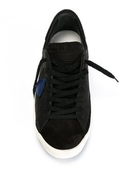 Кроссовки С Заплаткой С Логотипом Philippe Model                                                                                                              чёрный цвет