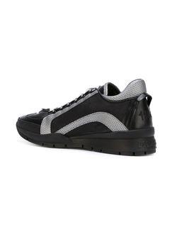 Кроссовки С Контрастными Полосками Dsquared2                                                                                                              чёрный цвет
