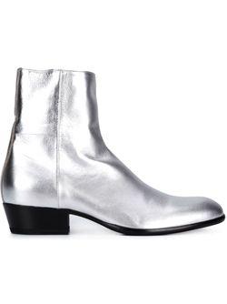 Ботинки По Щиколотку Maison Margiela                                                                                                              серебристый цвет