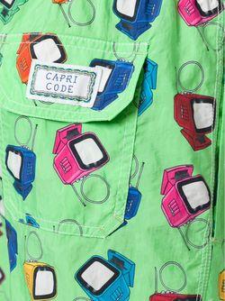 Плавательные Шорты С Принтом В Телевизоры CAPRICODE                                                                                                              зелёный цвет