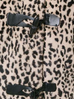 Пальто С Леопардовым Принтом И Капюшоном METEO BY YVES SALOMON                                                                                                              Nude & Neutrals цвет