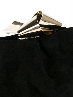 Клатч Cara Jimmy Choo                                                                                                              чёрный цвет