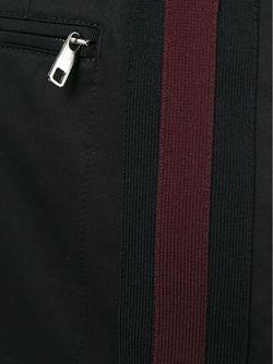 Брюки С Контрастной Окантовкой По Бокам Dolce & Gabbana                                                                                                              чёрный цвет