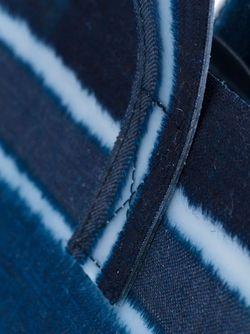 Полосатая Сумка-Тоут LUISA CEVESE RIEDIZIONI                                                                                                              синий цвет