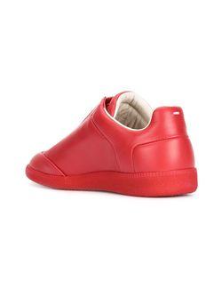 Кеды С Потайным Язычком Maison Margiela                                                                                                              красный цвет