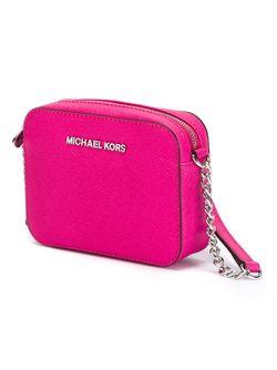 Мини Сумка Через Плечо Jet Set Michael Michael Kors                                                                                                              розовый цвет