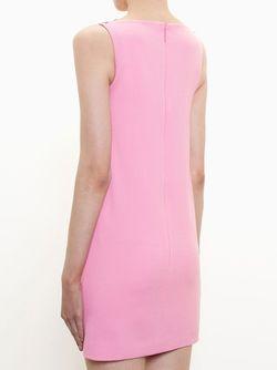 Мини-Платье С Цветочной Аппликацией Christopher Kane                                                                                                              розовый цвет