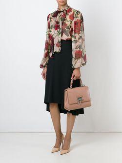 Средняя Сумка-Тоут Rosalia Dolce & Gabbana                                                                                                              розовый цвет