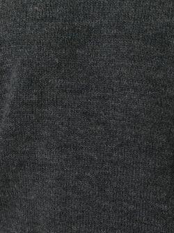 Свитер С Джинсовыми Рукавами Dsquared2                                                                                                              серый цвет