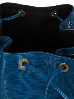 Маленькая Сумка-Кисет Noe LOUIS VUITTON VINTAGE                                                                                                              синий цвет