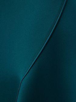 Драпированная Юбка С Асимметричным Подолом Dion Lee                                                                                                              зелёный цвет