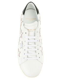 Кеды California Saint Laurent                                                                                                              белый цвет