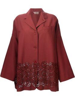 Пиджак С Широкими Рукавами ROMEO GIGLI VINTAGE                                                                                                              красный цвет