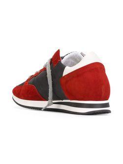 Кроссовки С Панельным Дизайном Philippe Model                                                                                                              красный цвет