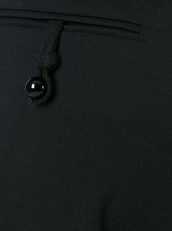 Укороченные Брюки Emporio Armani                                                                                                              чёрный цвет