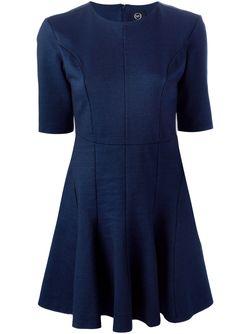 Расклешённое Платье Mcq Alexander Mcqueen                                                                                                              синий цвет