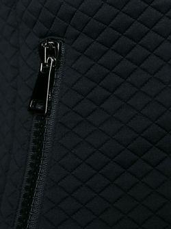 Пиджак В Рельефную Клетку Moncler                                                                                                              чёрный цвет