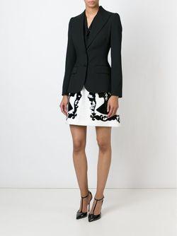 Блейзер С Заостренными Лацканами Dolce & Gabbana                                                                                                              чёрный цвет