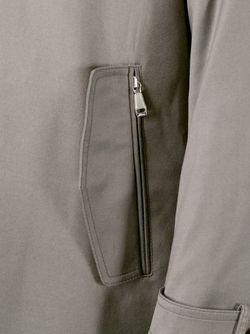 Классический Плащ Brioni                                                                                                              серый цвет