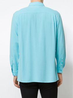 Рубашка С Принтом Звёзд BRUTA                                                                                                              синий цвет