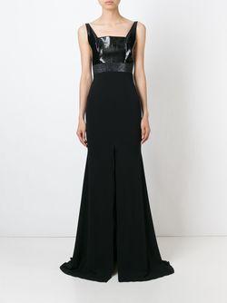 Вечернее Платье Paulette ALEX PERRY                                                                                                              черный цвет