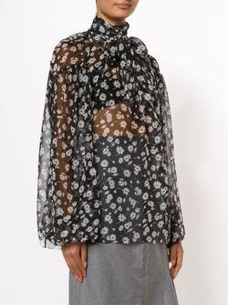 Прозрачная Блузка С Цветочным Узором Dolce & Gabbana                                                                                                              чёрный цвет