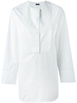 Удлиненная Рубашка С Нагрудником Joseph                                                                                                              белый цвет