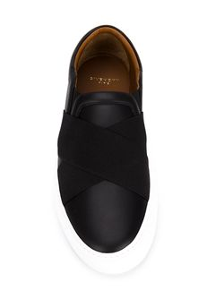Кеды Слип-Он С Эластичными Ремешками Givenchy                                                                                                              чёрный цвет