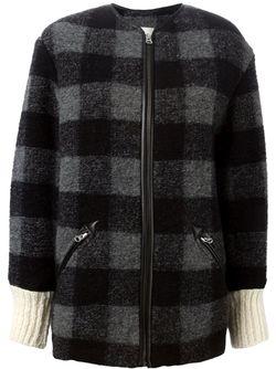 Пальто Gelicia Isabel Marant Étoile                                                                                                              серый цвет