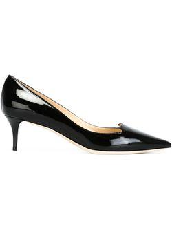 Туфли На Низком Каблуке Allure Jimmy Choo                                                                                                              черный цвет