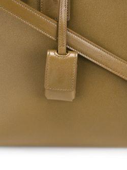 Маленькая Сумка-Тоут Sac De Jour Saint Laurent                                                                                                              зелёный цвет