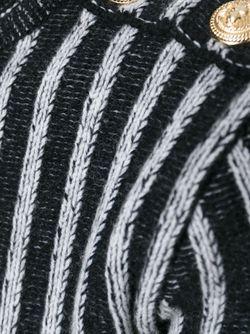 Свитер В Рубчик Balmain                                                                                                              черный цвет