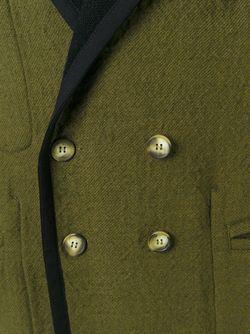 Двухстороннее Пальто Свободного Кроя MM6 by Maison Margiela                                                                                                              зелёный цвет