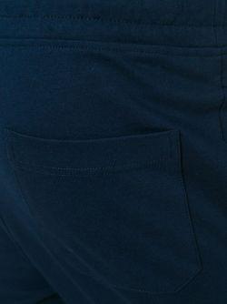 Байкерские Спортивные Брюки Balmain                                                                                                              синий цвет