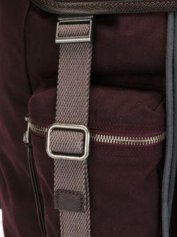Рюкзак С Карманами Dolce & Gabbana                                                                                                              красный цвет