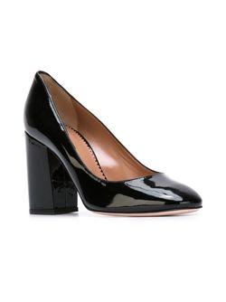 Туфли На Массивном Каблуке Red Valentino                                                                                                              черный цвет