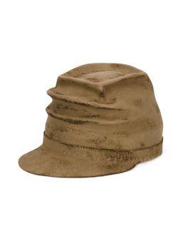 Фетровая Шляпа С Потёртой Отделкой HORISAKI DESIGN & HANDEL                                                                                                              коричневый цвет
