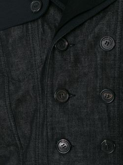 Пальто С Контрастными Панелями Dsquared2                                                                                                              чёрный цвет