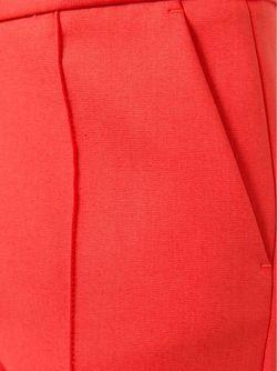 Брюки Кроя Слим MSGM                                                                                                              красный цвет