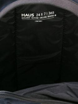 Рюкзак Haus X Ggdb Golden Goose                                                                                                              черный цвет