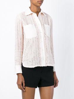 Кружевная Рубашка See By Chloe                                                                                                              розовый цвет