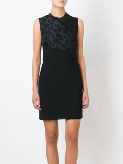 Платье Шифт С Леопардовым Принтом 3.1 Phillip Lim                                                                                                              чёрный цвет