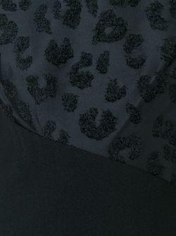 Платье Шифт С Леопардовым Принтом 3.1 Phillip Lim                                                                                                              черный цвет