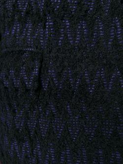 Пальто С Узором Шеврон Isabel Marant                                                                                                              чёрный цвет