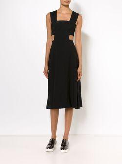 Расклешенное Платье С Вырезными Деталями Suno                                                                                                              черный цвет