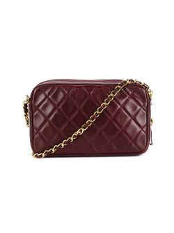 Сумка Для Камеры Через Плечо Chanel Vintage                                                                                                              красный цвет